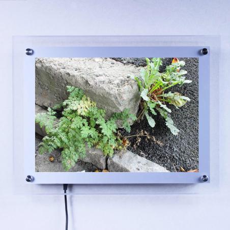 Plexiglasram LED
