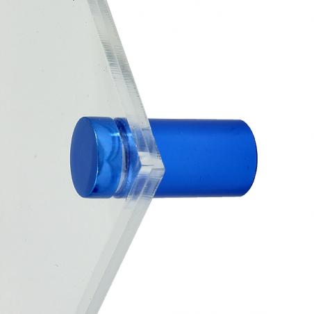Basic Flat skyltdistans blå 4-pack