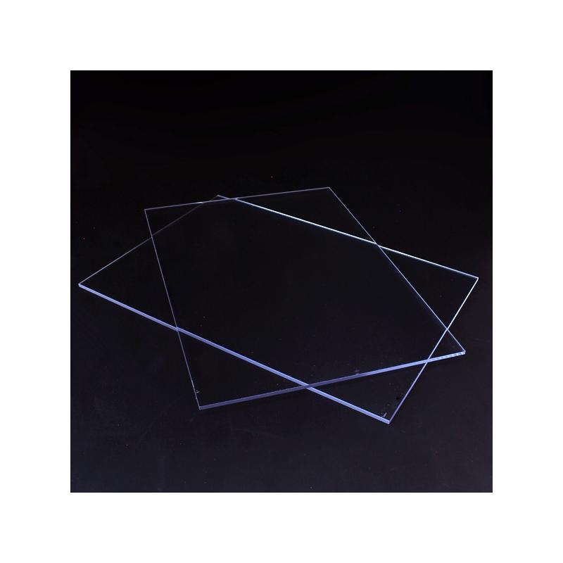 Plexiglasskiva utan hål