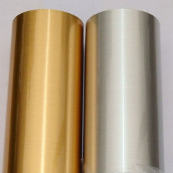 Golden Glossy PET Film Non-waterproof
