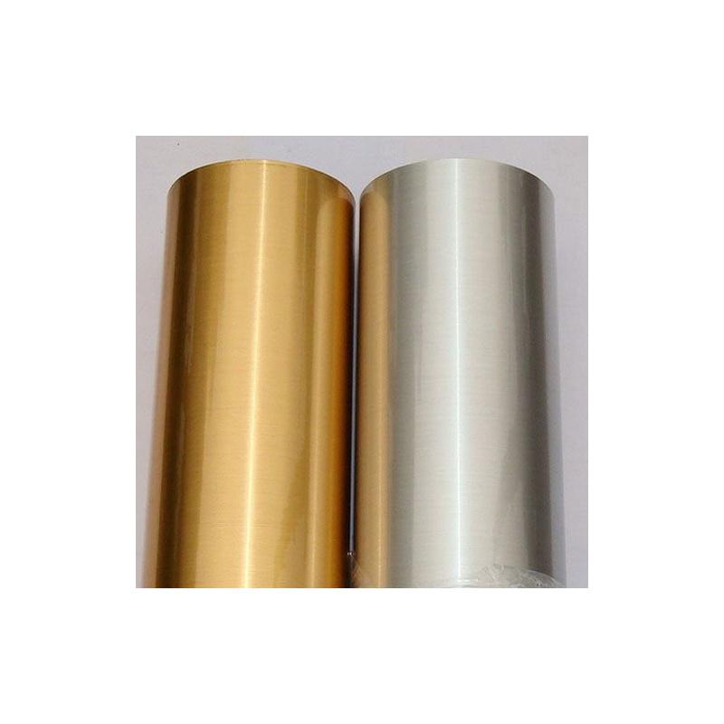Silver Glossy PET Film Non-waterproof