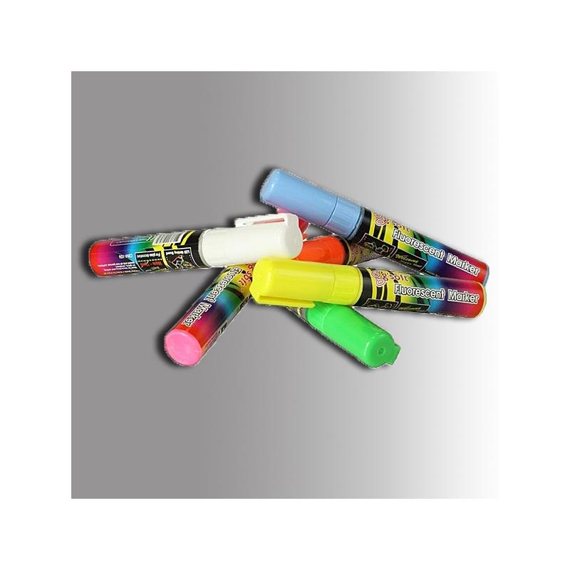 Märkpenna fluorescerande 6-pack